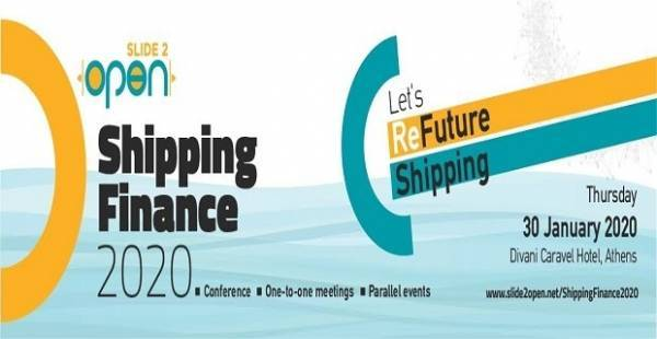 Let's ReFuture Shipping: Συνέδριο Slide2Open Shipping Finance 2020