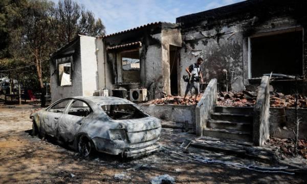 Πυρκαγιά Μάτι: Στους 100 οι νεκροί-Υπέκυψε 73χρονος εγκαυματίας