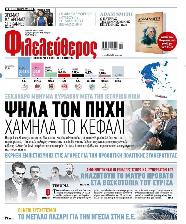 Τρολάρει ο «Φιλελεύθερος»: «Αναζητούν το μαύρο πρόβατο στα βοσκοτόπια του ΣΥΡΙΖΑ»