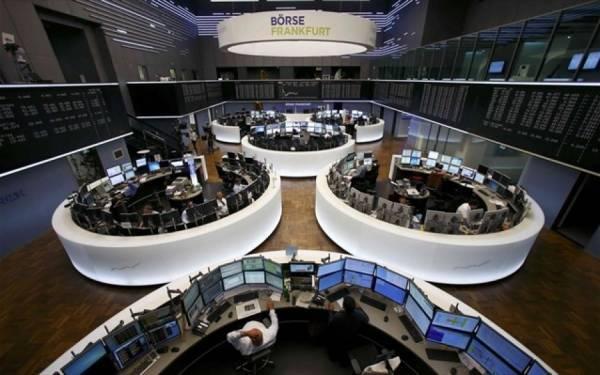 Οριακή πτώση στις ευρωαγορές