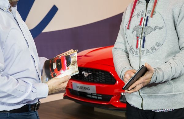"Ford:Συνεχίζει στο ""The Mall Athens"" με πρωταγωνίστρια τη Ford Mustang"