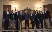 Συνάντηση Τσίπρα με επτά γερουσιαστές του Αμερικανικού Κογκρέσου στο Μαξίμου