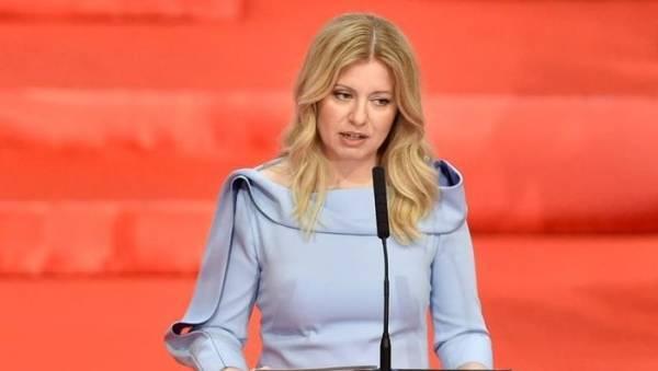 Σλοβακία: Η πρώτη γυναίκα πρόεδρος ανέλαβε καθήκοντα