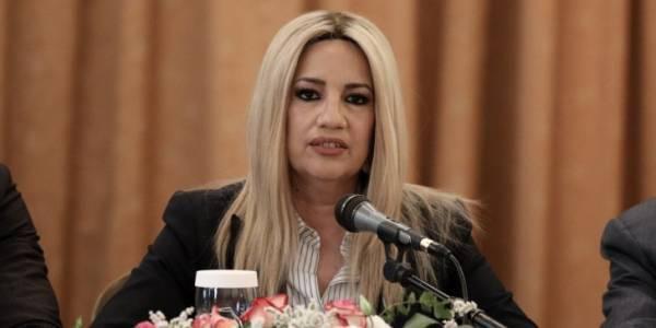 Γεννηματά:Ο Γιούνκερ αποκάλυψε την αλήθεια και οι Τσίπρας-Μητσοτάκης την κρύβουν