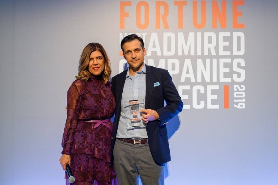 Το Public στη λίστα «Fortune Greece Most Admired Companies 2019»
