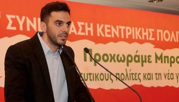 Επανεξελέγη γραμματέας της Κ.Ε. του ΚΙΝΑΛ ο Μανώλης Χριστοδουλάκης