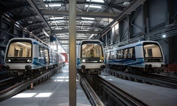 Μετρό Θεσσαλονίκης: Παραδίδονται ως τον Ιανουάριο οι 18 συρμοί