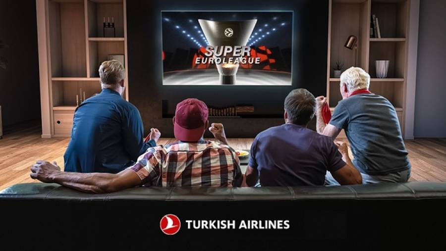Turkish Airlines και «Super Euroleague»: Μία συνεργασία για τρίποντα!