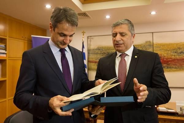 Απόλυτη συστράτευση για εκλογή Πατούλη στην Αττική ζητά ο Μητσοτάκης