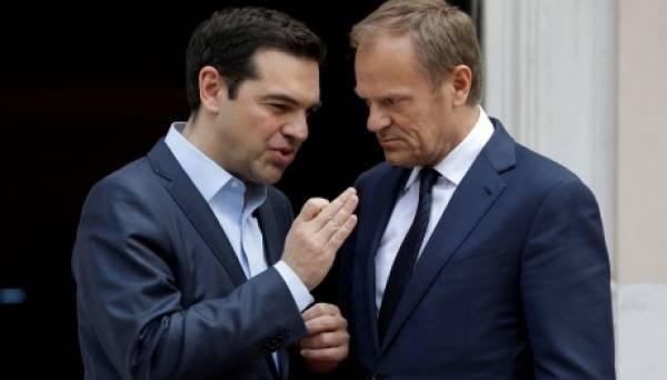 Κύπρος, Brexit και προσφυγικό στη συνάντηση Τσίπρα - Τουσκ
