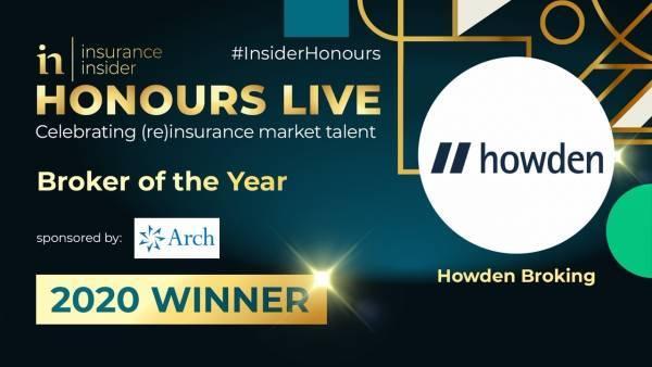 Howden Broking Group: Μεσίτης της Χρονιάς 2020 από το Insurance Insider