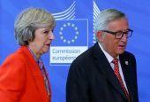 Συνάντηση Μέι με Γιούνκερ - Μπαρνιέ για το Brexit