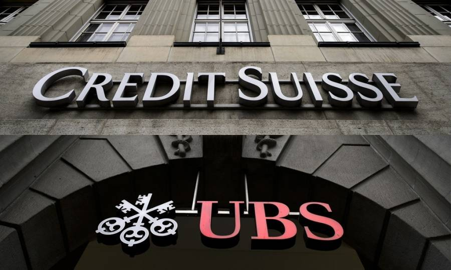 Bloomberg: Εξετάζεται συγχώνευση UBS με Credit Suisse