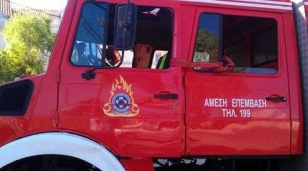 Πυρκαγιά σε βιομηχανία απορρυπαντικών στα Οινόφυτα