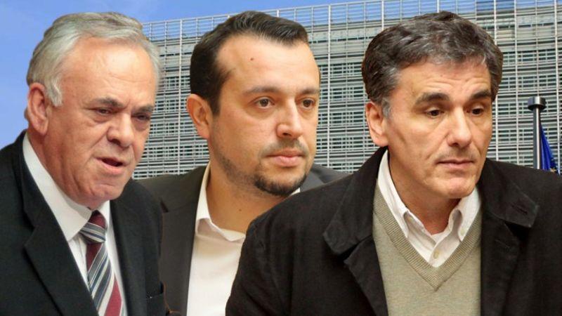 Βρυξέλλες: Δραγασάκης, Τσακαλώτος, Παππάς ενώπιον Ευρωπαίων και ΔΝΤ