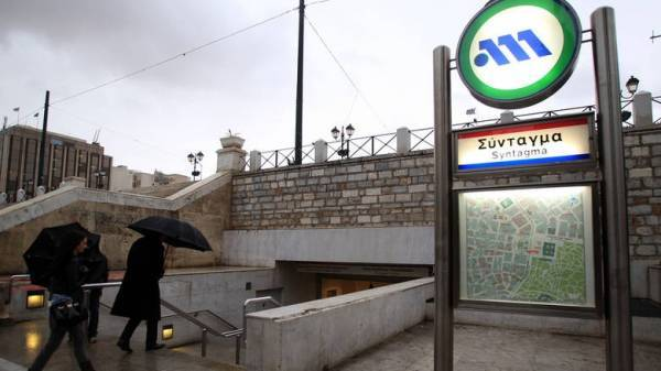Κλειστό το μετρό στο Σύνταγμα λόγω συγκεντρώσεων