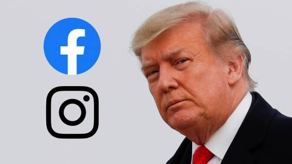 Facebook και Instagram διατηρούν το «απαγορευτικό» στον Τραμπ