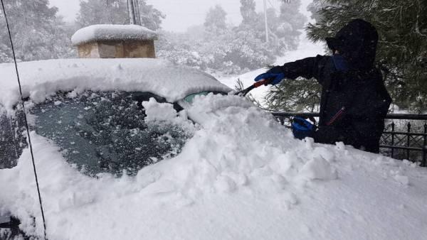 Σε πολύ χαμηλά επίπεδα η χιονοκάλυψη στην Ελλάδα τον Ιανουάριο