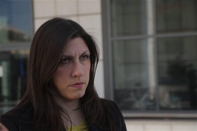 Κωνσταντοπούλου: Εγώ εκπροσωπώ τον ΣΥΡΙΖΑ!