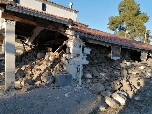 Τι ζημιές καταγράφηκαν απ'το σεισμό στην περιοχή της Ελασσόνας (photos)