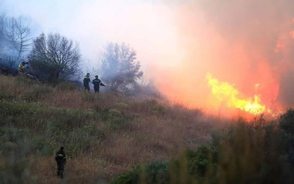 Πυρκαγιά ξέσπασε στην Ανατολική Μάνη
