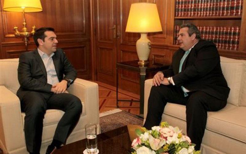 Τσίπρας-Καμμένος: Χρειάζεται εθνική γραμμή στο Κυπριακό