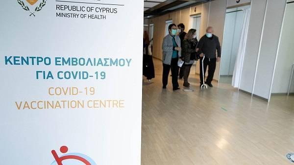 Το 31,9 % των Κύπριων έχει λάβει την πρώτη δόση εμβολίου