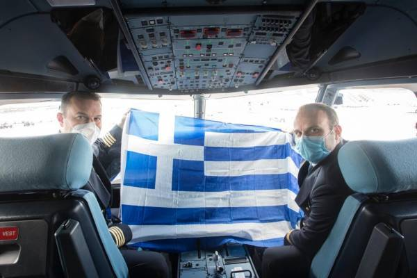 SKY express: Υποδέχτηκε τα δύο νέα Airbus Α320neo «1821» και «Freedom»