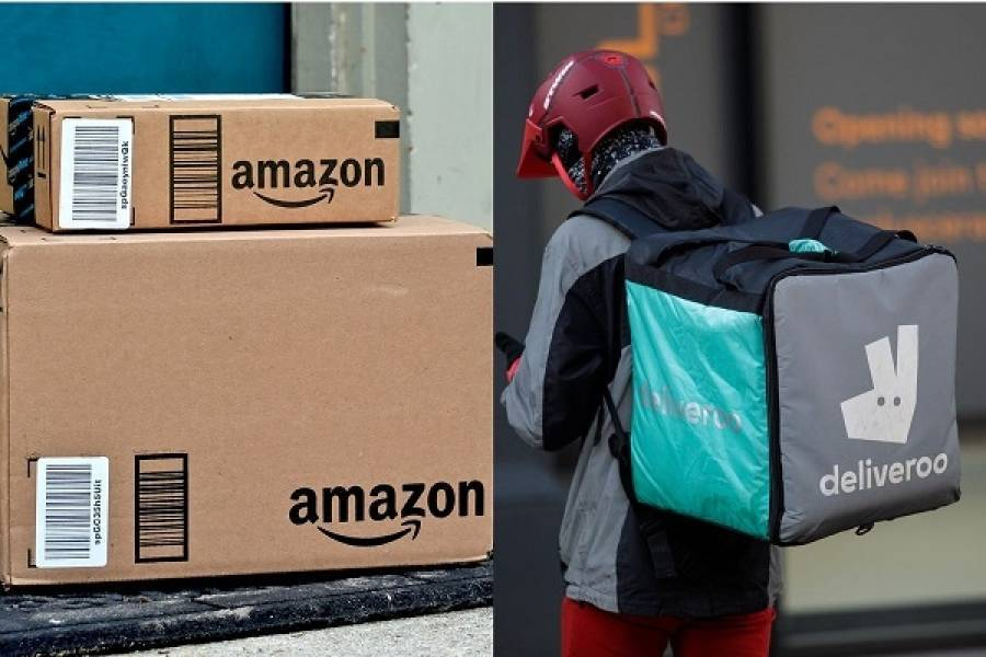 Amazon: Ένα βήμα πριν την απόκτηση του 16% της Deliveroo