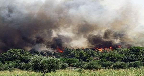 Σε κατάσταση έκτακτης ανάγκης οι δήμοι Πεταλούδων και Καλλιθέας Ρόδου