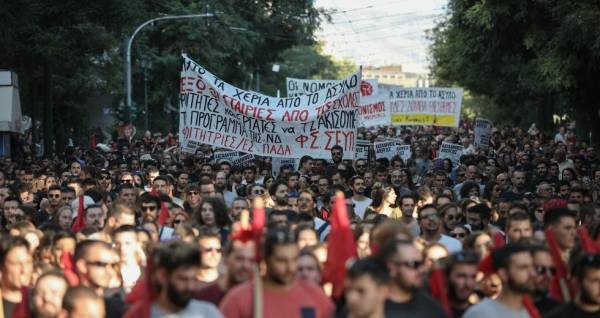 Στα σκαριά το νομοσχέδιο για τις διαδηλώσεις