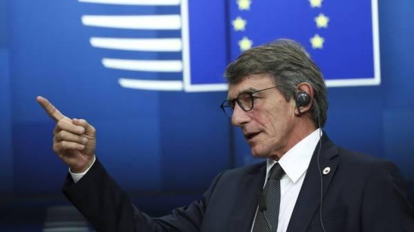 Ευχές του προέδρου του Ευρωπαϊκού Κοινοβουλίου σε Σακελλαροπούλου
