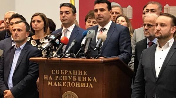 Ο Ζάεφ δηλώνει βέβαιος για ψήφιση της Συμφωνίας στην Ελλάδα