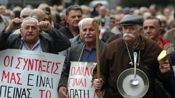Σε εξέλιξη πανελλαδικό συλλαλητήριο συνταξιούχων στο κέντρο της Αθήνας