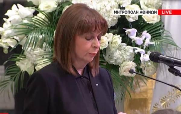 Σακελλαροπούλου: Η Φώφη Γεννηματά έκανε οίστρο της ζωής τον φόβο του θανάτου