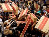 ΗΠΑ: Μικρή προσέλευση στα καταστήματα στην Black Friday