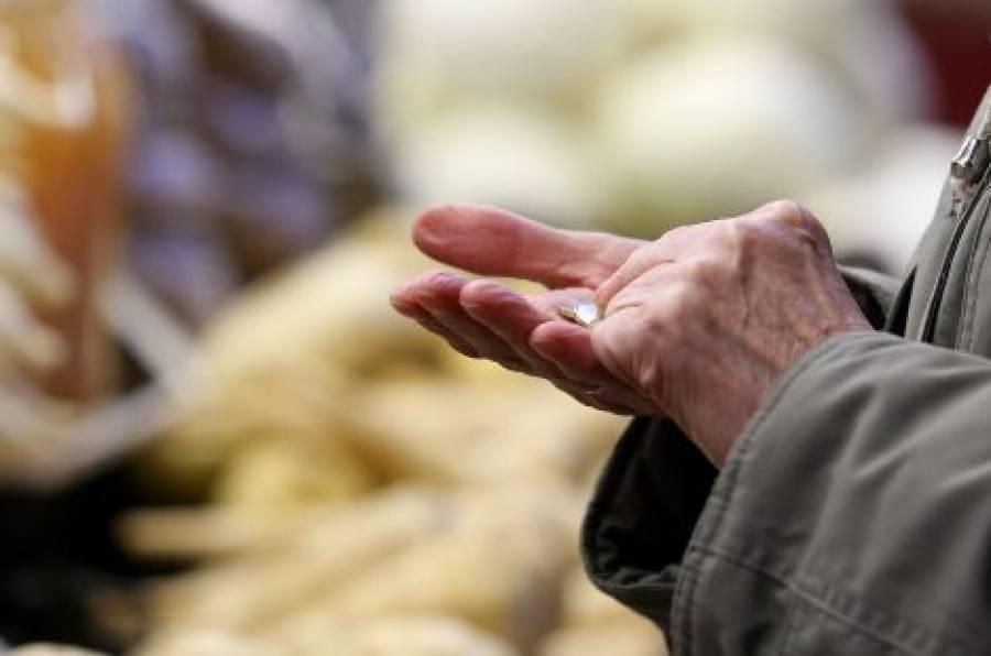 Κίνδυνος φτώχειας για το 28,9% των Ελλήνων, το μέσο διαθέσιμο εισόδημα
